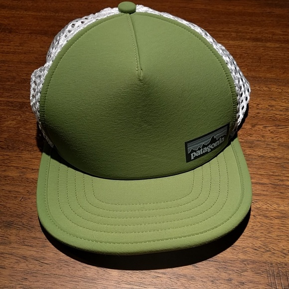 4e8bcf79a93 Patagonia Duckbill Trucker Hat. M 5a6ce9ee3316279c94c719a7